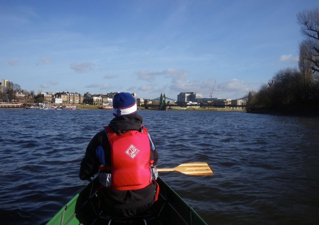 Thames paddle