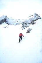 What kit for winter mountaineering?